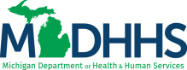 MDHHS Michigan Department of Health and Human Services Logo