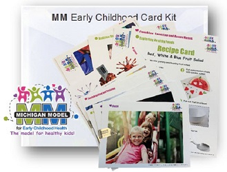 Pre K Early Childhood Card Kit 0PREKCK